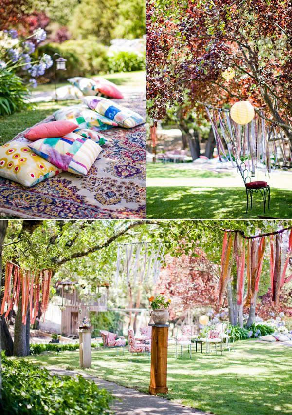 403 Forbidden | Garden weddings, Bohemian and Gardens