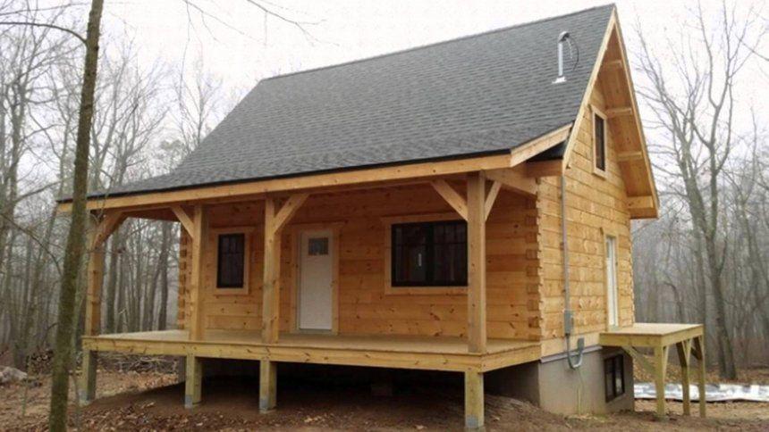 log cabin base concrete foundation for houses cinder block