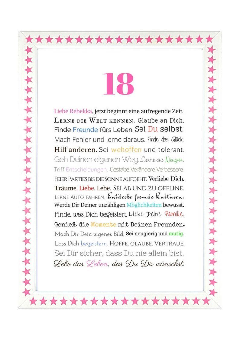 Geschenk Zum 18 Geburtstag Mädchen Geschenke Zum 18