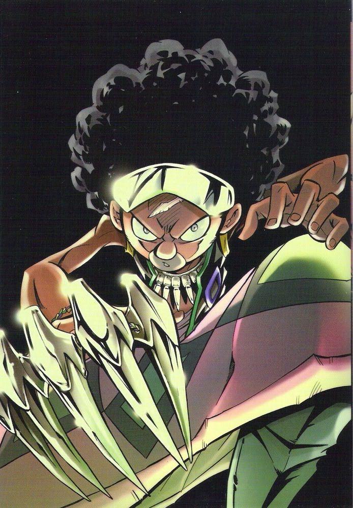 Chocolove Mcdonell Shaman King Street Fighter Art Samurai Art