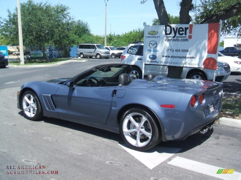 Corvette America 2011 Chevrolet Corvette Grand Sport Convertible In Supersonic Blue Corvette Grand Sport Chevrolet Corvette Corvette
