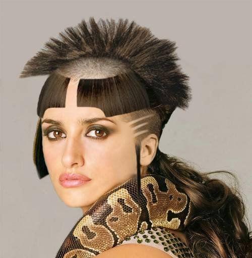 choppy hairstyles feminine