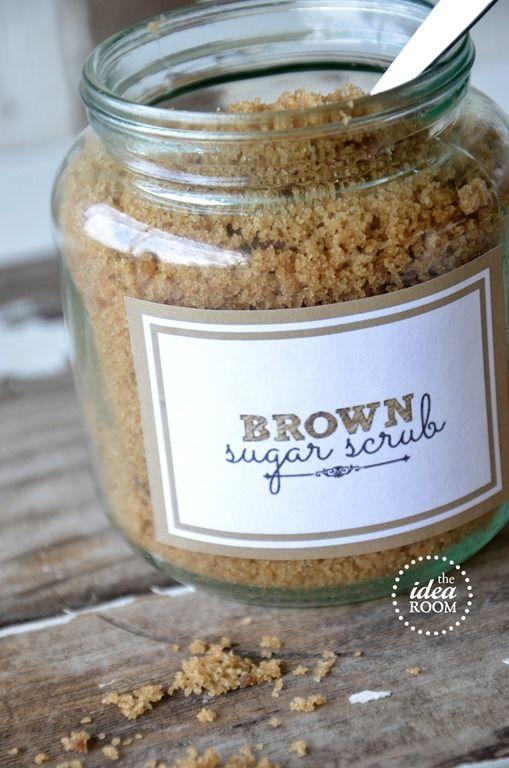 Sugar Scrub Recipe: Brown Sugar Scrub
