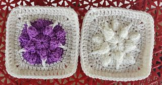 A very pretty pattern using the popcorn stitch.