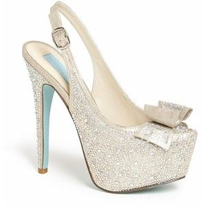 Betsey Johnson TOAST pump/These are great wedding shoes for me!! :)