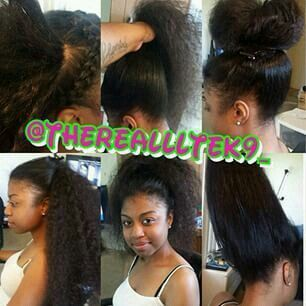 Versatile Sew In Natural Hair Styles Hair Styles Long Hair Styles