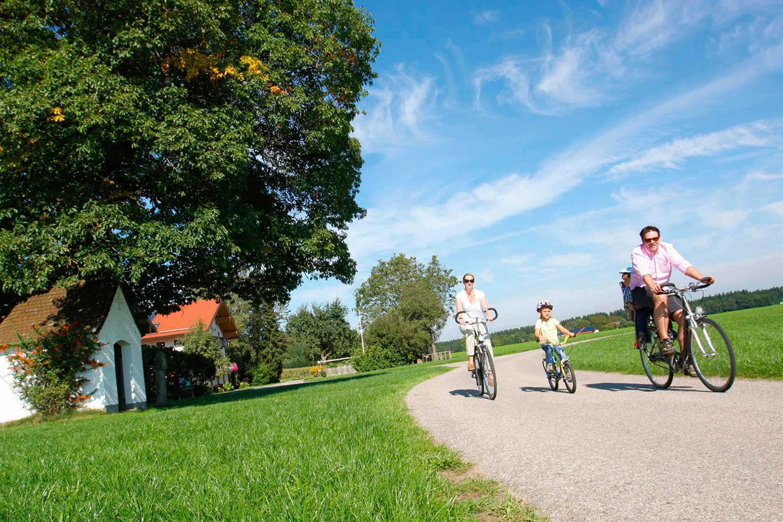 Fahrradfahren im Chiemgau