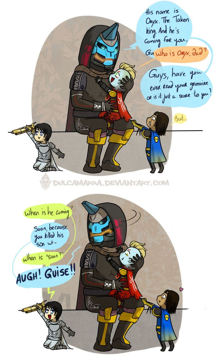 Oh My Love Me Some Cayde 6 Blague