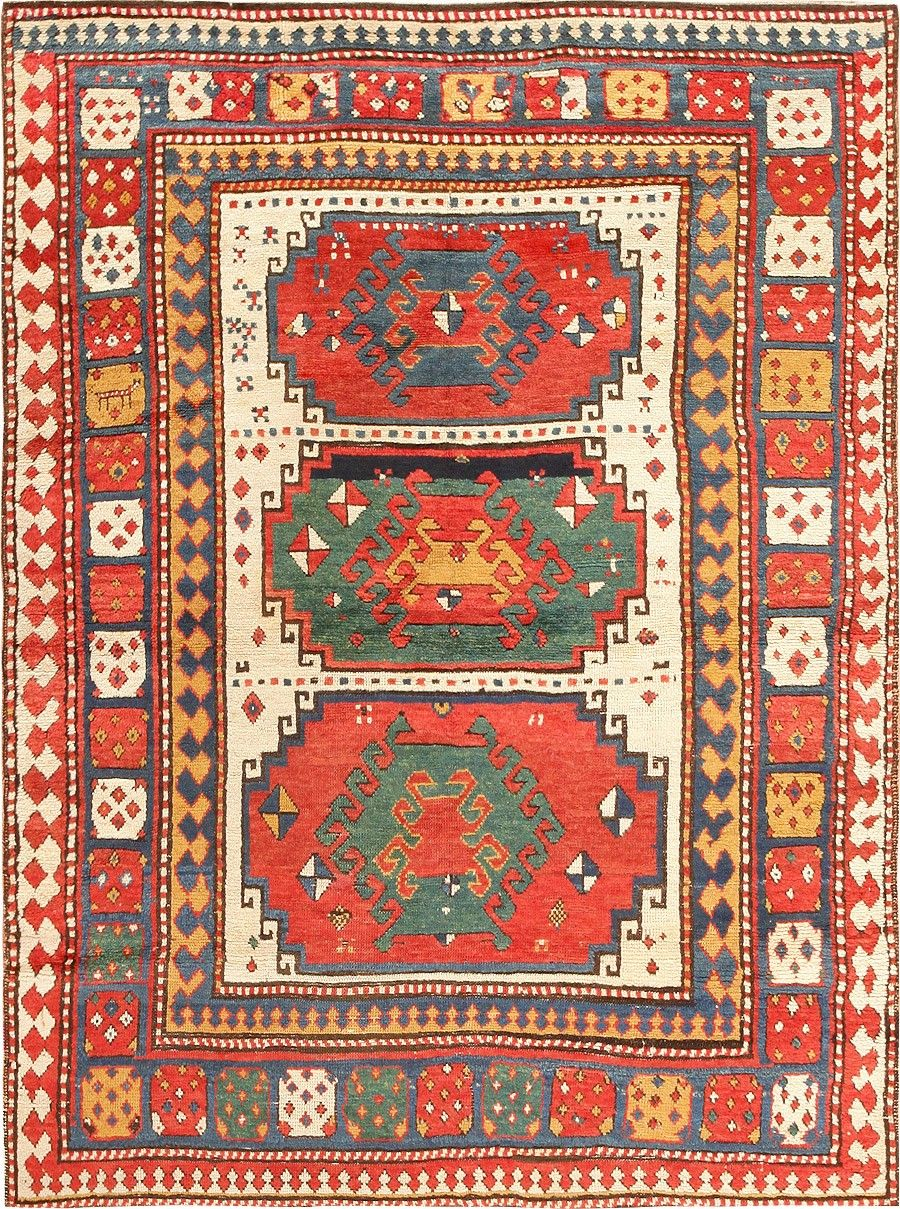 Antique Tribal Rug Kazak Rugs Pinterest Persian carpet and