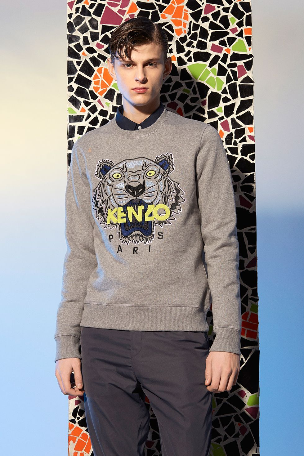 Cheap Kenzo Tiger Jumper Mens