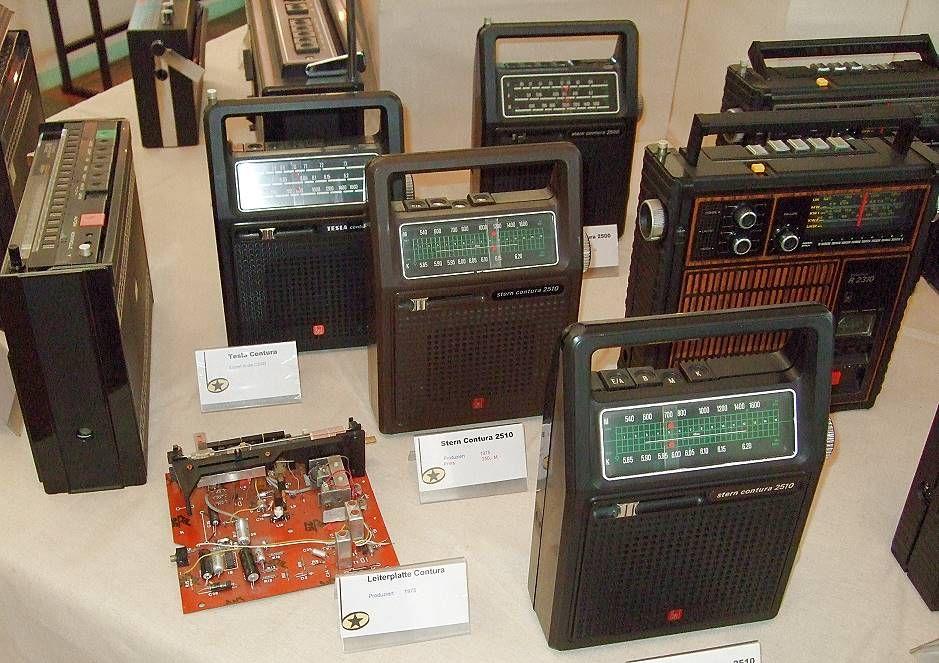 Geschichte - Stern Radio Berlin   Einige Kofferradios