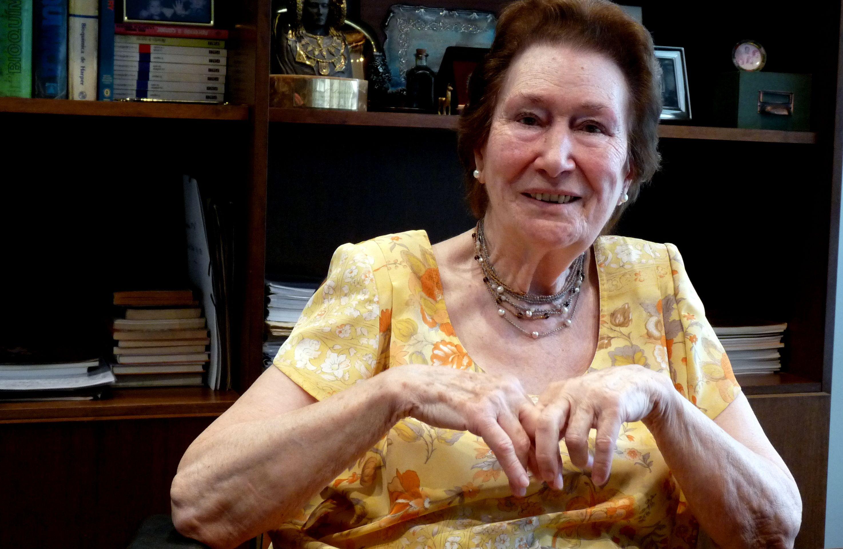 Ana Maria Lajusticia Tengo 89 Anos Naci En Bilbao Y Vivo En
