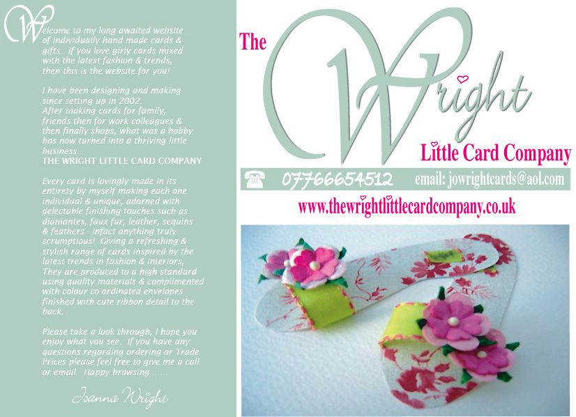 The Wright Little Card Company My Website Card Companies Cards