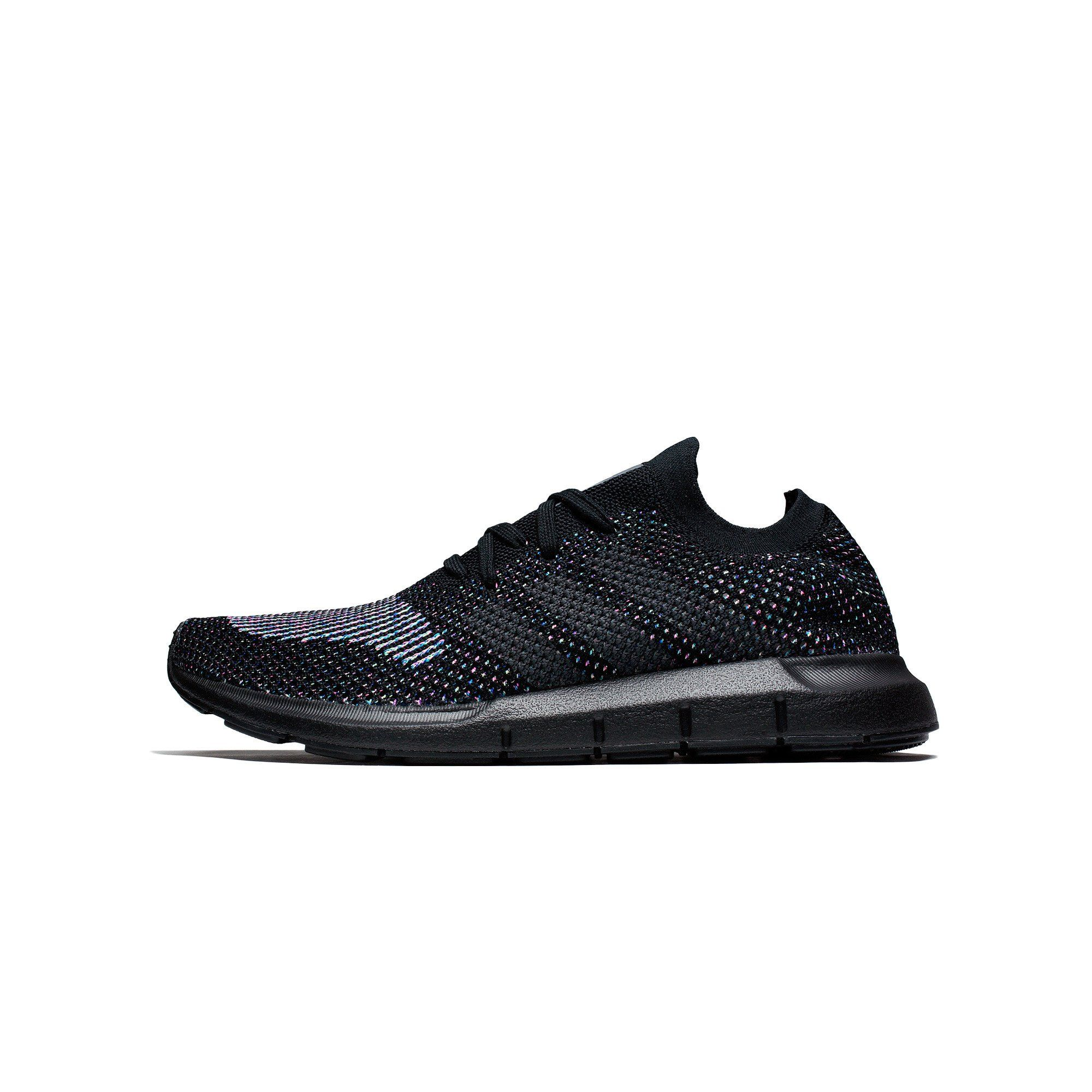 adidas originals swift run primeknit trainers in black cg4127