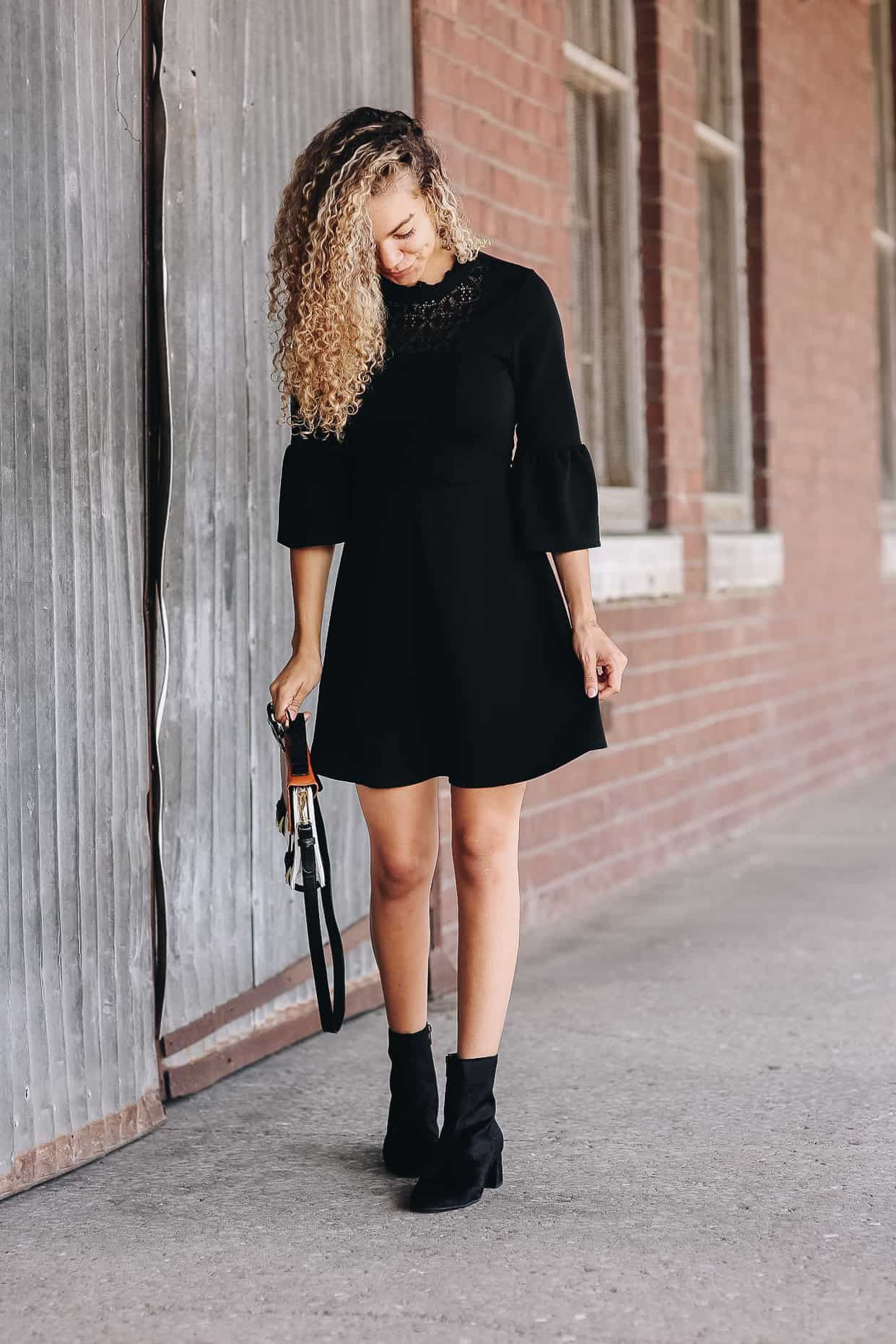 1 Pair Of Ankle Boots 3 Ways My Chic Obsession Casual Fall Outfits Ankle Boots Dress Fall Boots Outfit [ 1861 x 1241 Pixel ]