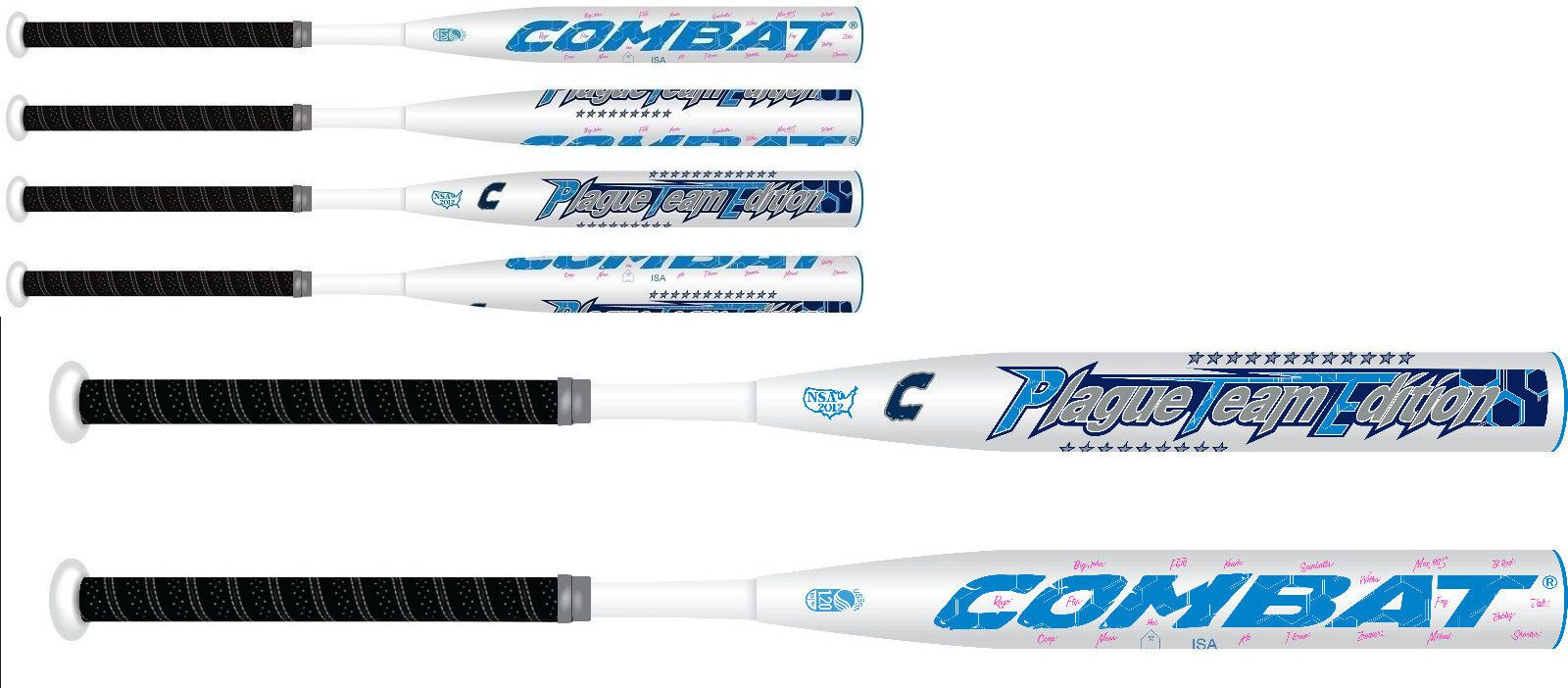 Softball-Slowpitch 50797: Combat Pte Plague Team Edition 2 Piece