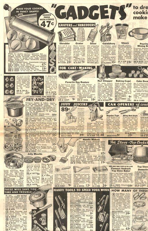 montgomery ward vintage catalogs