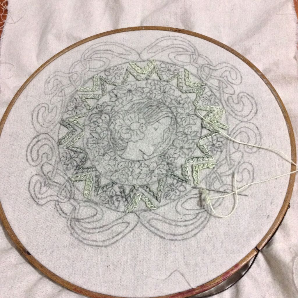 Work in progress! www.fb.com/ovillosytejidos