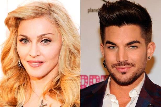 Imagem: Adam Lambert e Madonna prestam homenagem a David Bowie - Madonna