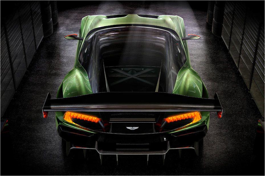 Ein 800 Ps V12 Für Die Rennstrecke Rennwagen Aston Martin Superauto