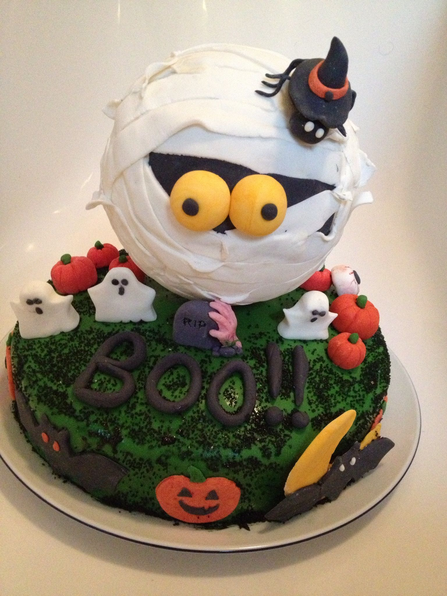 Hallowen cake fatta da noi!! cakes Pinterest Cake, Halloween - Halloween Cake Decorating Ideas