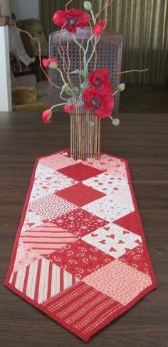 Image Result For Valentine Days Table Runner Camino De Mesa