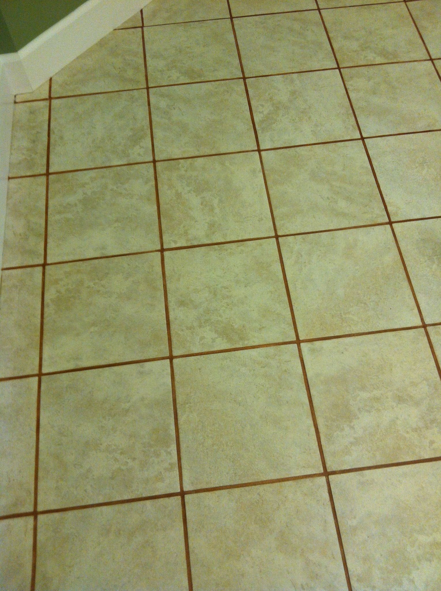 How To Stain Grout Diy Pinterest Grout Terra Cotta And Bottle