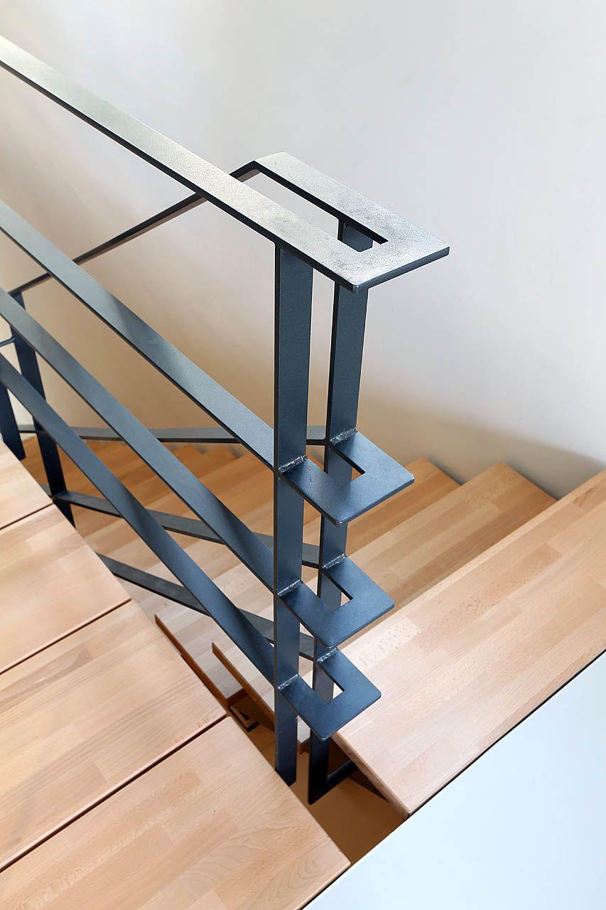 Yves deneyer menuiserie métallique ferronnerie stairs