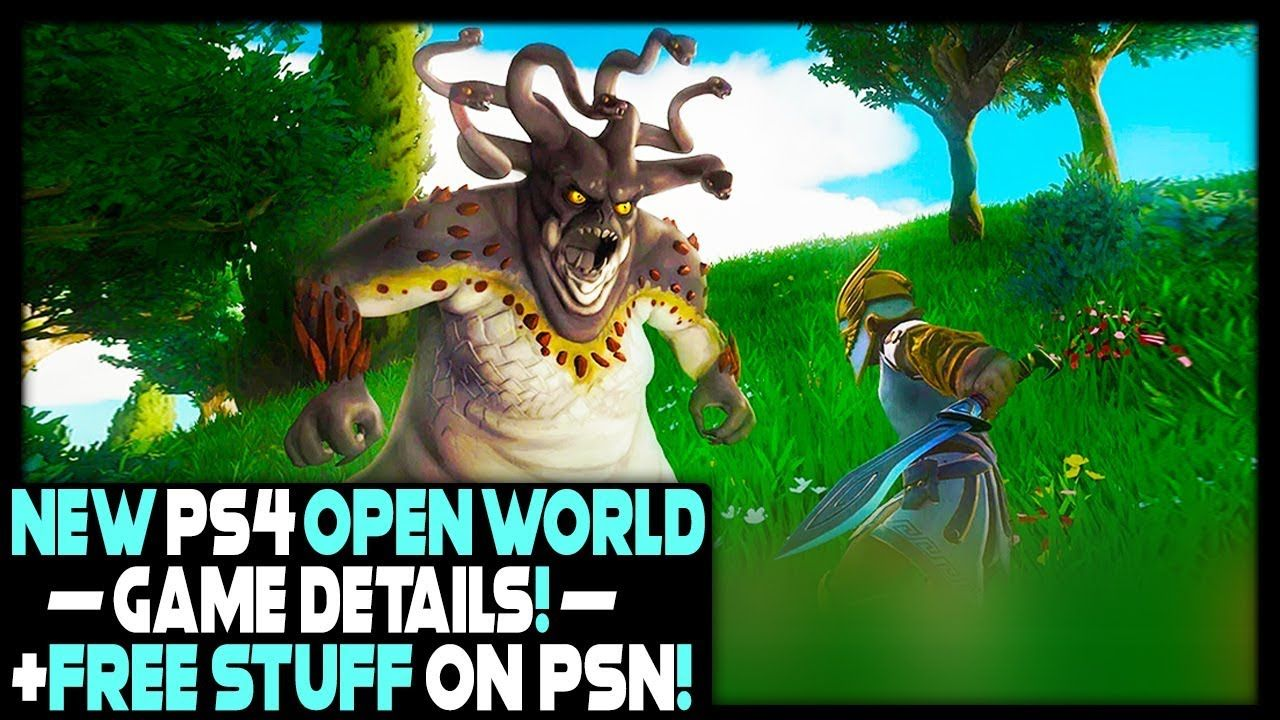 NEW PS4 OPEN WORLD GAME DETAILS + FREE STUFF ON PSN!