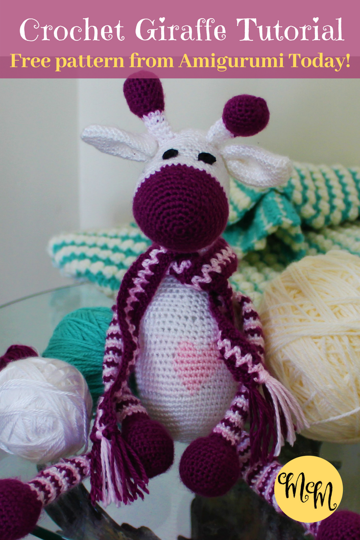 Giraffe Amigurumi | Pinterest | Crochet giraffe pattern, Giraffe ...
