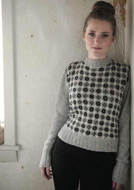 idea para frente entretenido y mangas lisas   Sweater