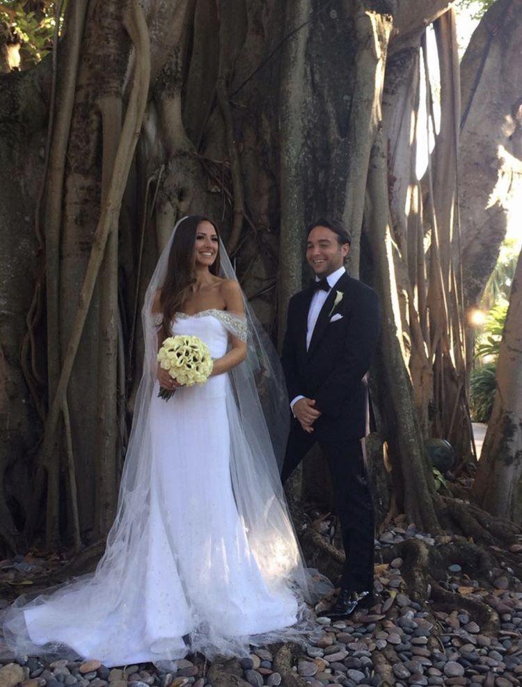 Arielle Charnas Wedding : arielle, charnas, wedding, Arielle, Charnas, Wedding, Charnas,, Dresses,, Strapless, Dress