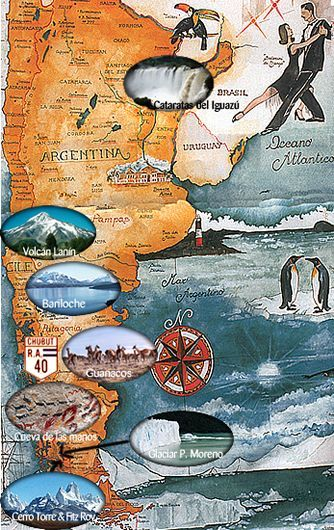 Argentina it's a big big land of beauty. Tour it with www.spiritofsouthamericatravel.com