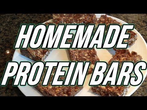 Easiest Homemade Protein Bars Only 4 Ingredients 101