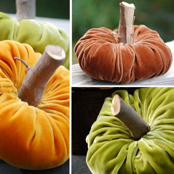 I've seen these pumpkin in boutiques - I had no idea they were this easy to make!