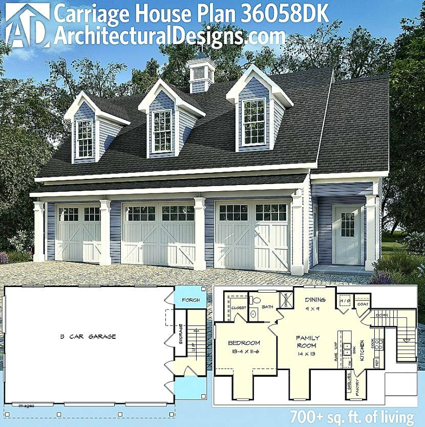 4 Car Garage Apartment Plans House Plan