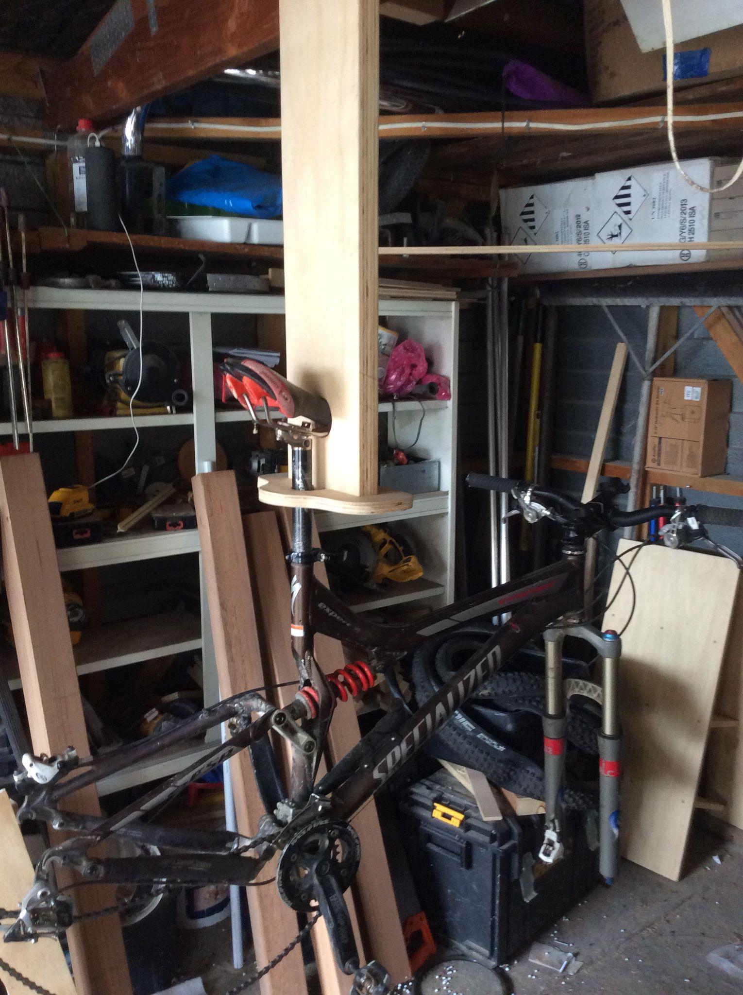Diy bike repair stand bike repair bike repair stand repair