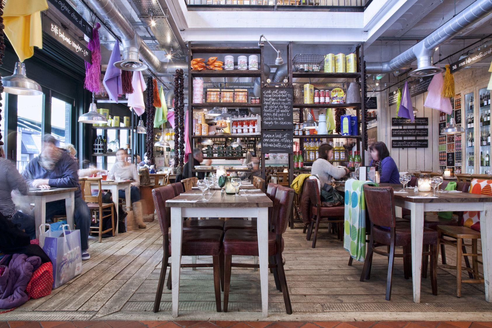 A Colourful Ground Floor Restaurant Interior Restaurant