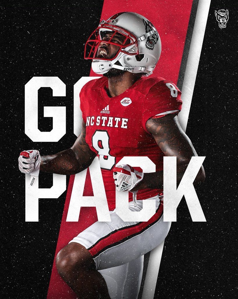 Nc State Nc State College Sports Graphics American Football