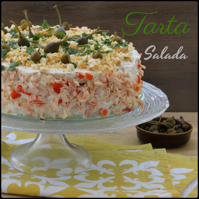 Mi Adorable Cocina Tarta Salada Con Pan De Molde Tartas Saladas Tartas Pasteles Salados