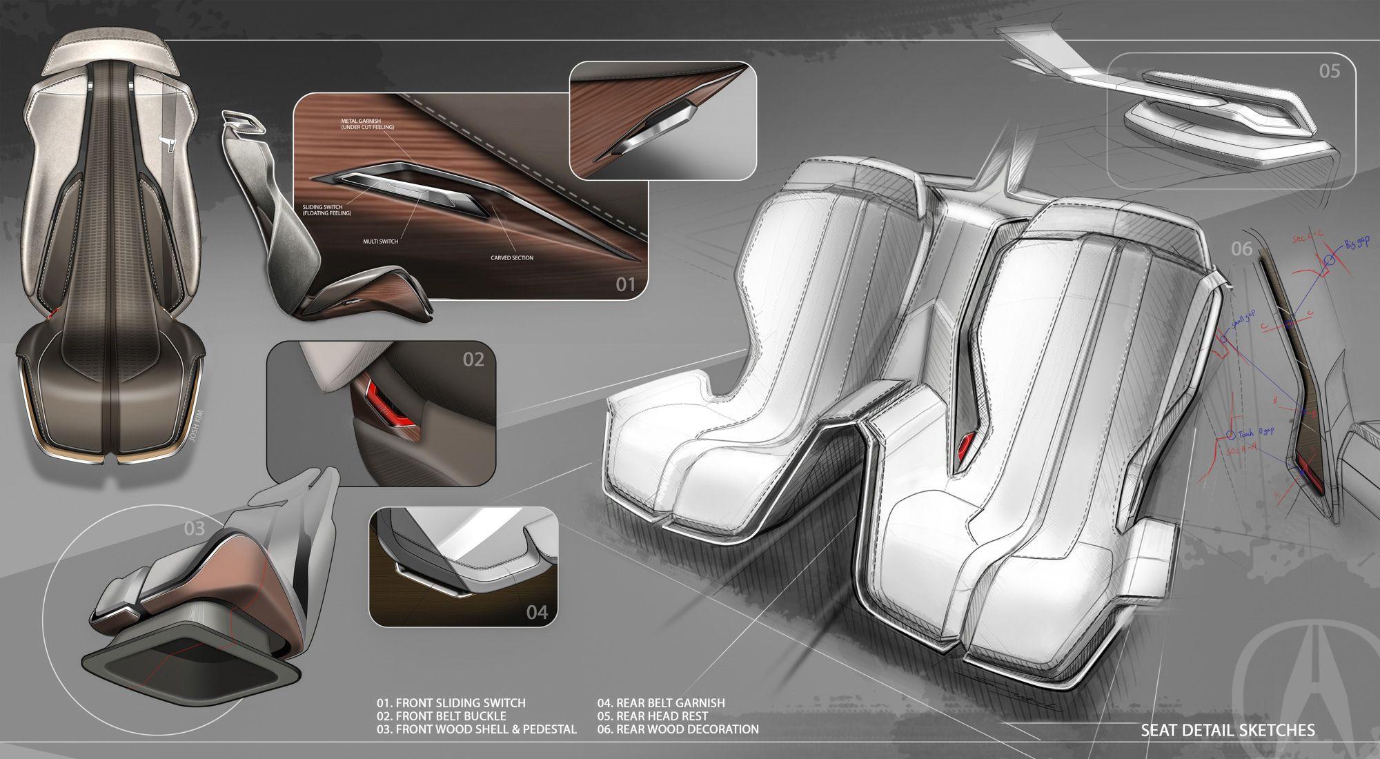 Design Development Acura Precision Concept Car Design News Car Interior Design Sketch Car Interior Design Car Interior Sketch