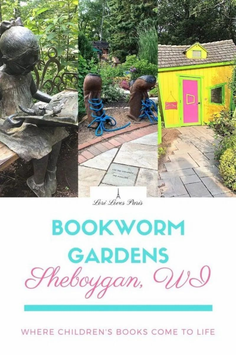 Bookworm Gardens In Sheboygan in 2020 Bookworm gardens
