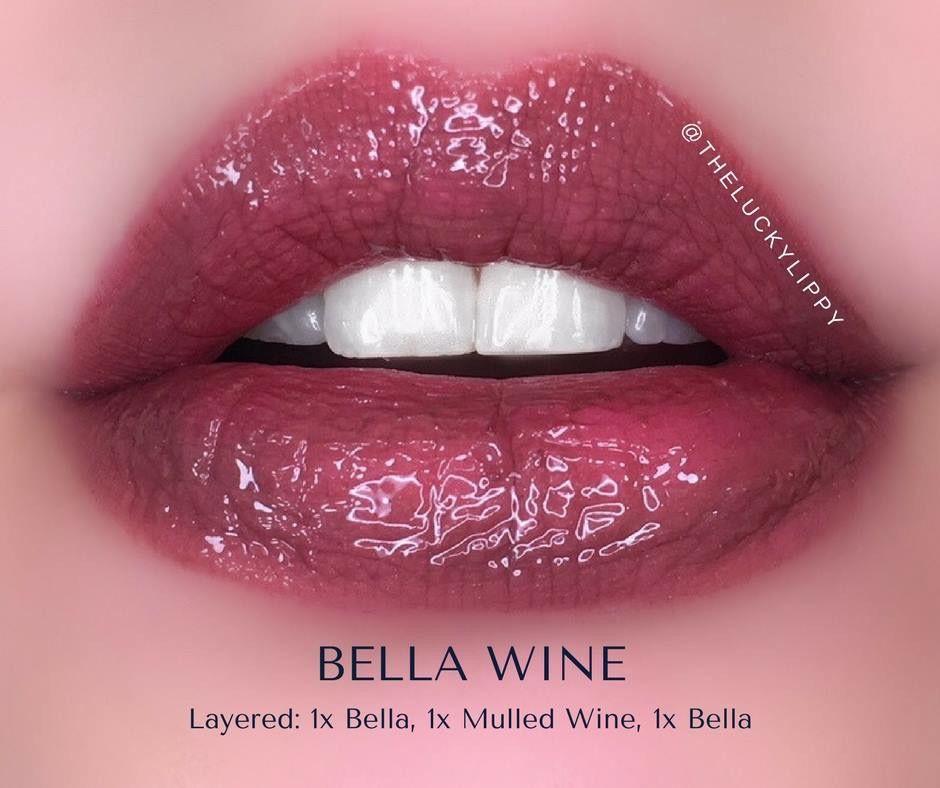 "LipSense ""Bella Wine""- Bella, Mulled Wine, Bella"