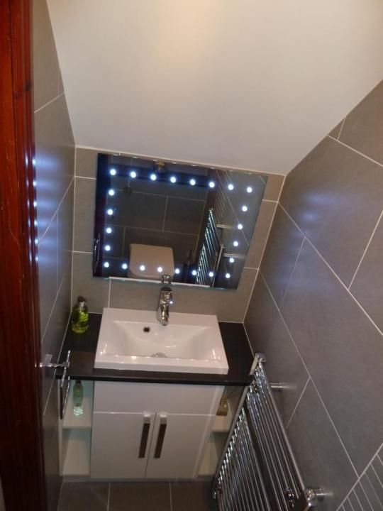 Lighting Basement Washroom Stairs: Under Stairs Toilet - Google Search …