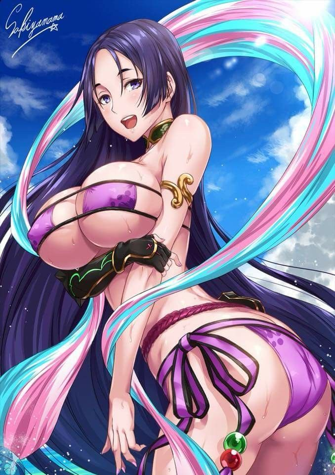 This magnificent Anime bare breast remarkable