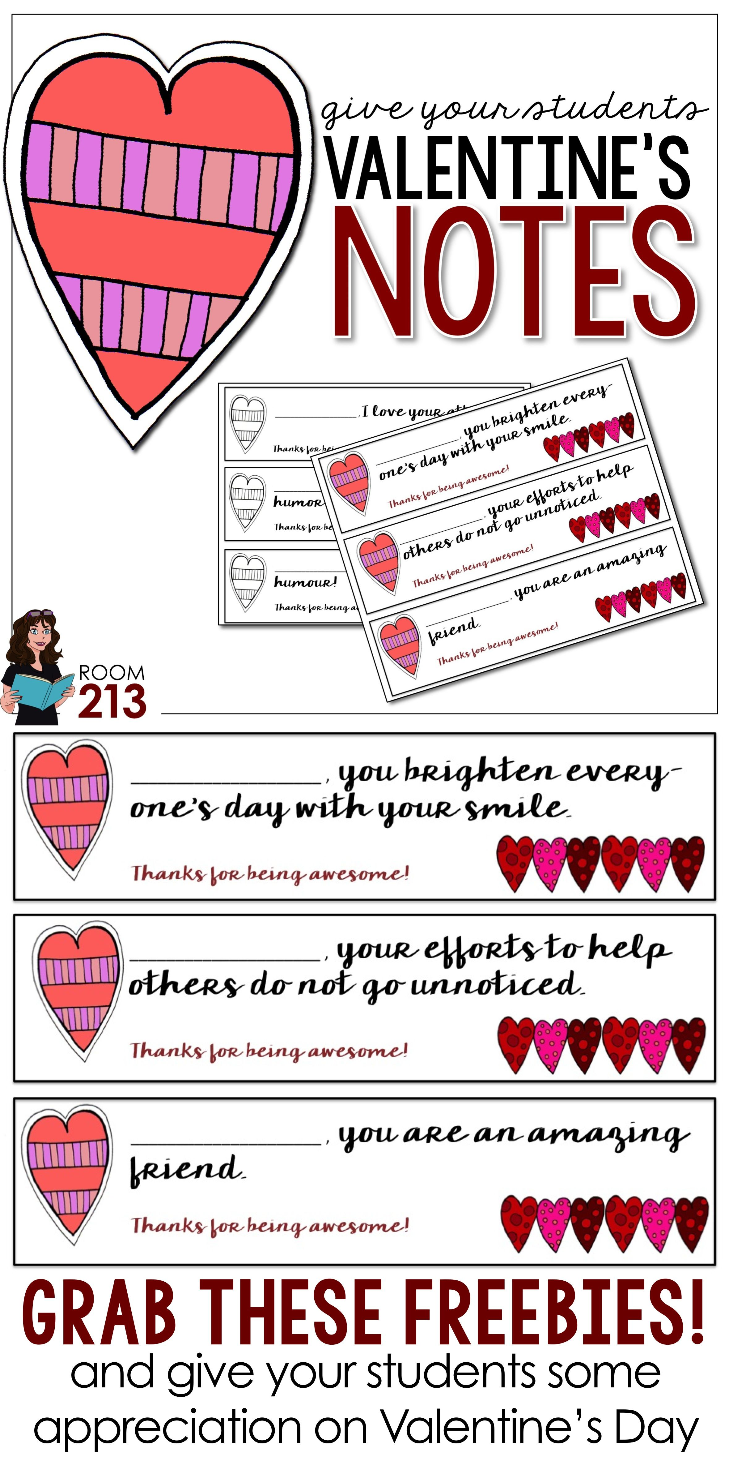 Valentine S Messages For Your Students