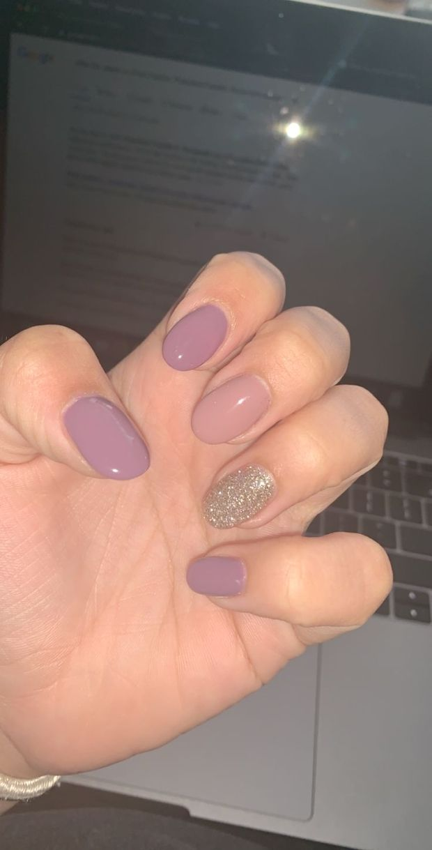 : #Fall  #fallnailsoval  #gel  #nails  #Oval  #season #Gel #oval #nails  Gel oval nails for the fall season, #nailoval