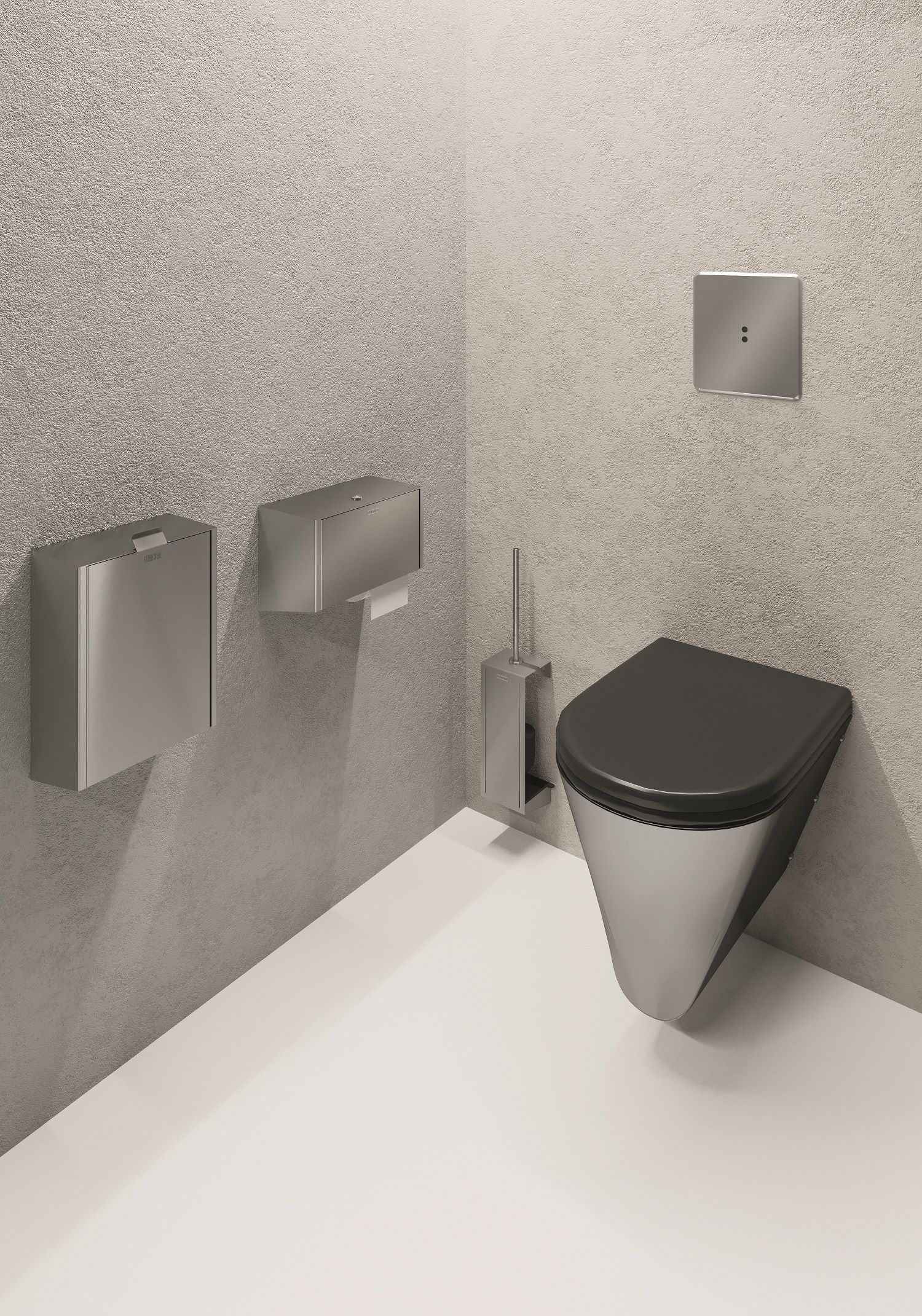 Franke Exos Washroom Accessories Stainless