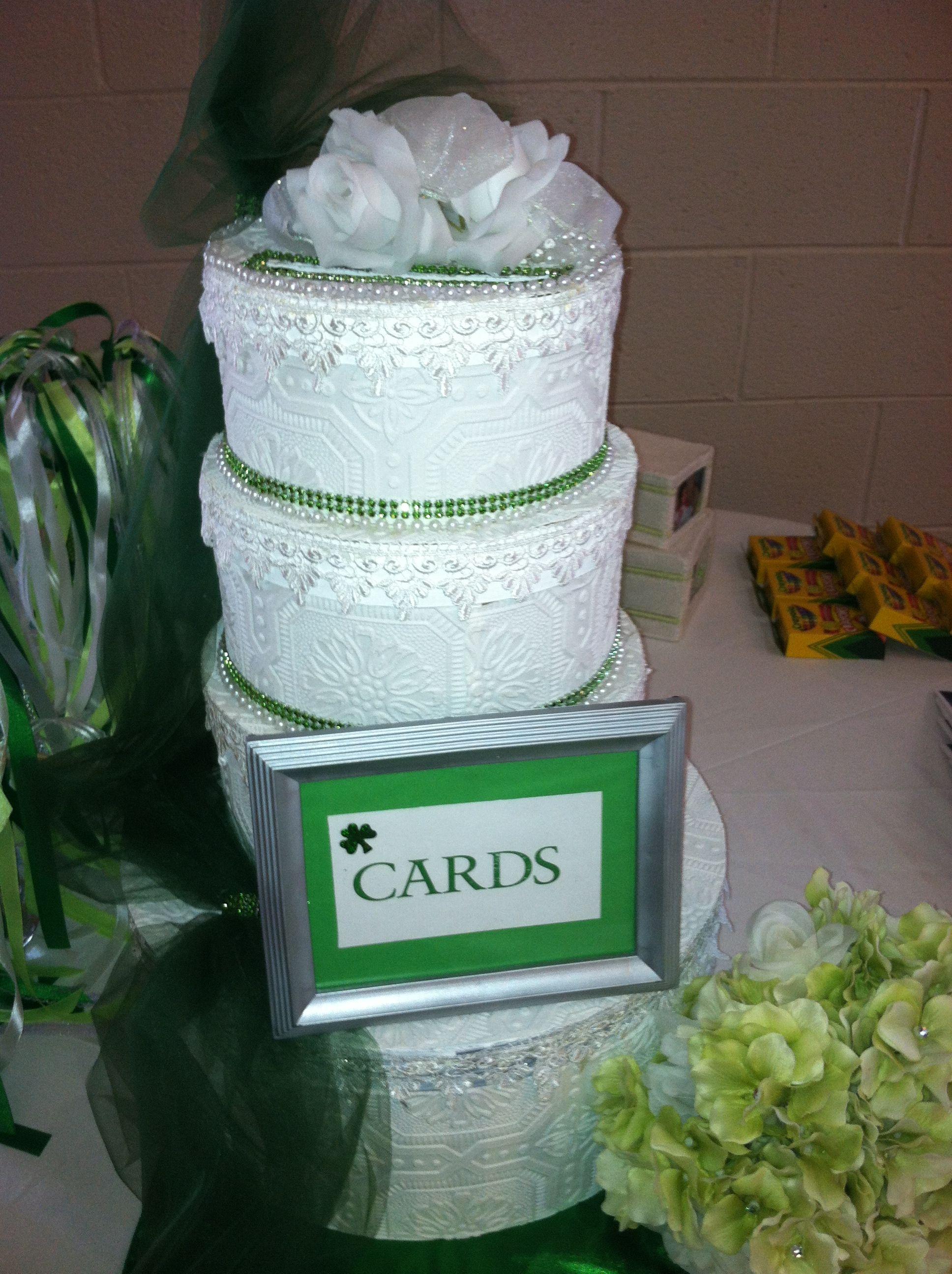 Card Box For Irish Wedding: Card Box Wedding Cake Ideas At Websimilar.org