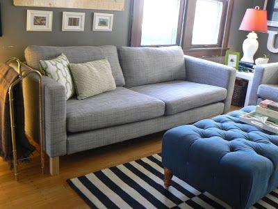 Mylittlehousedesign Com Ikea Karlstad Isunda Grey Living Room Leather Furniture Design Living Room Leather Living Room Set